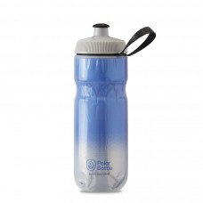 Polar Sport Insulated Water Bottle Fade Royal Blue/Silver 590ml