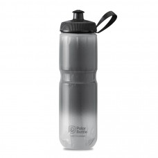 Polar Sport Insulated Water Bottle Fade Charcoal/Silver 710ml