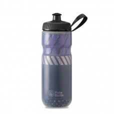 Polar Sport Insulated Water Bottle Tempo Charcoal/Pink 590ml