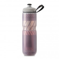 Polar Sport Insulated Water Bottle Tempo Burgundy/Coral 710ml