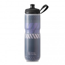 Polar Sport Insulated Water Bottle Tempo Charcoal/Pink 710ml
