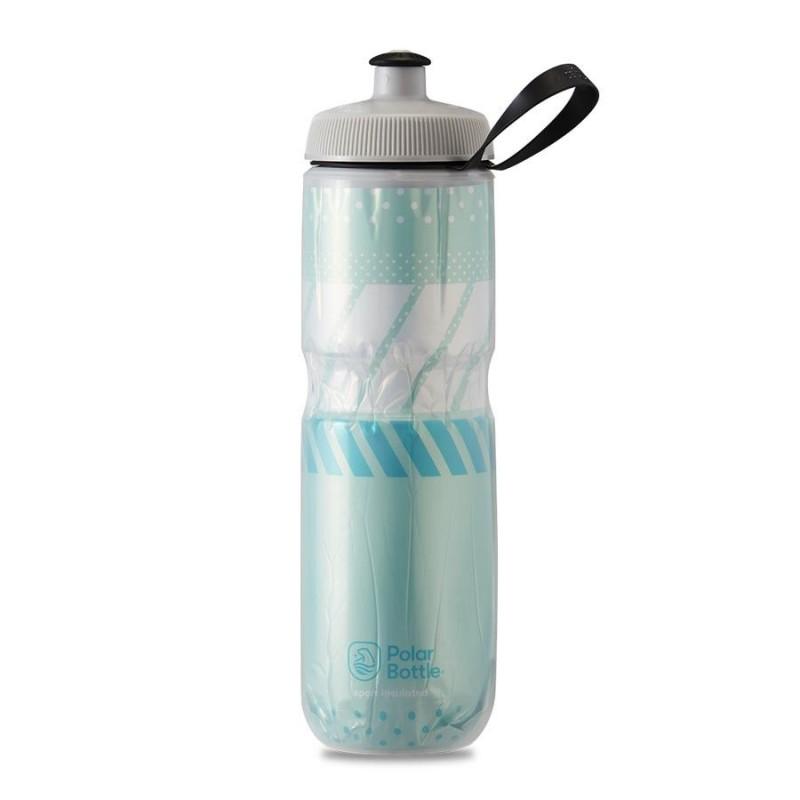 Polar Sport Insulated Water Bottle Tempo Mint/White 710ml