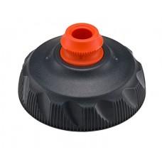 Polar ZipStream Water Bottle Cap-Charcoal-for 20oz-590ml, 24oz-710ml