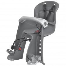 Polisport Bilby Junior Front Head Baby Bicycle Seat Grey
