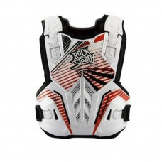 Polisport Chest Protector Rocksteady White