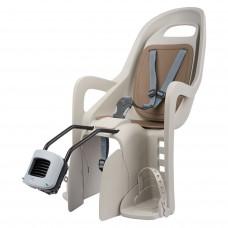 Polisport Groovy F Rear Head Baby Bicycle Seat Cream/Brown
