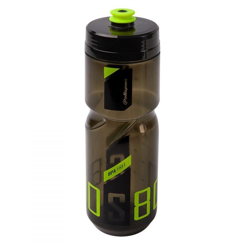 Polisport S800 Water Bottle 800Ml Black/Green