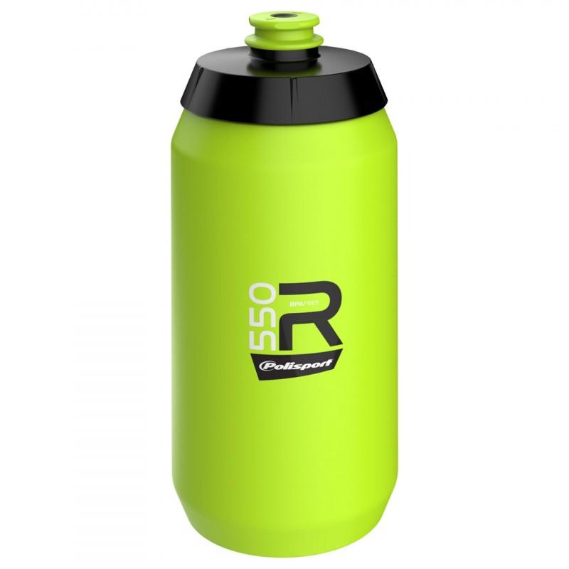 Polisport Water Bottle 550ml Lime Green