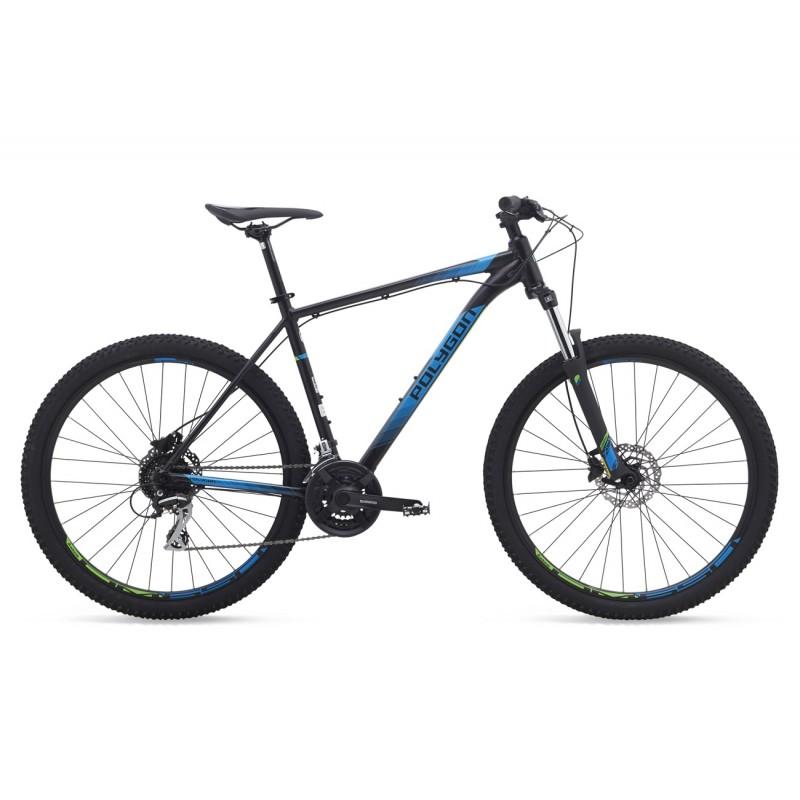 Polygon 27.5 Premier 4 Mountain Bike 2019 Black Blue