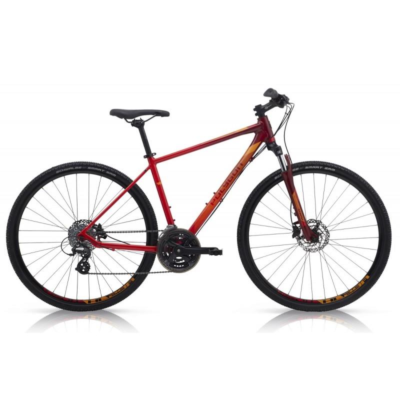 Polygon Heist 2 Urban Bike 2019 Red