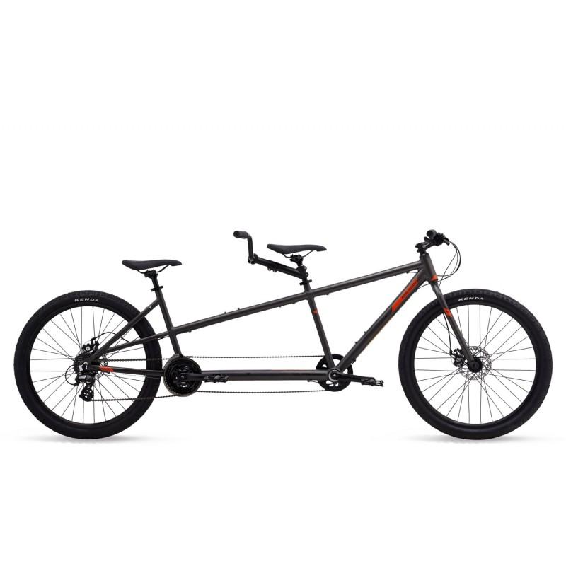 Polygon Impression AX Tandom Urban Bike 2019 Grey