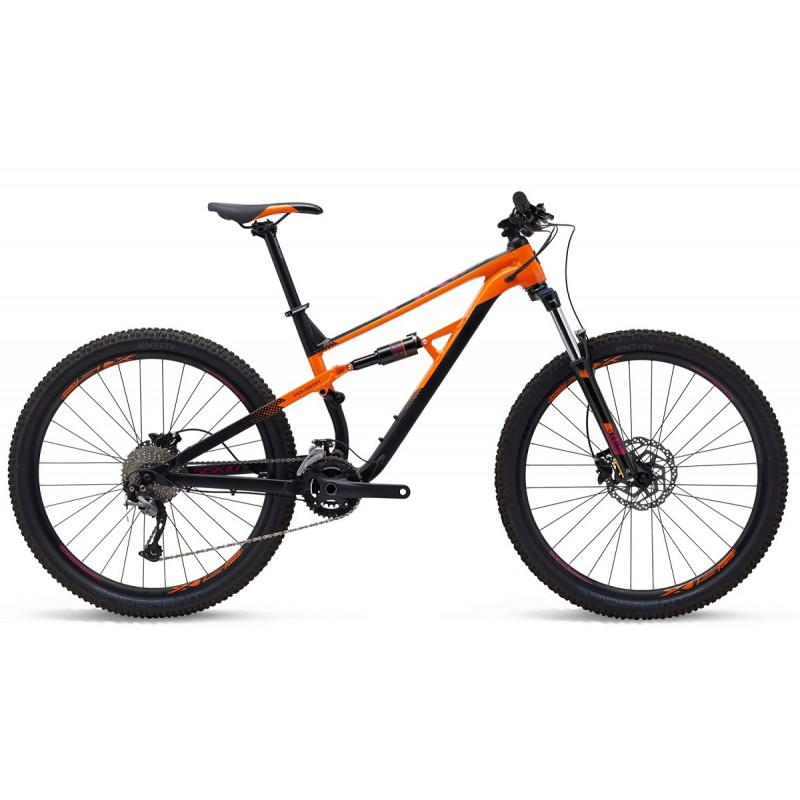 Polygon Siskiu D5 Mountain Bike 2020 Black Orange