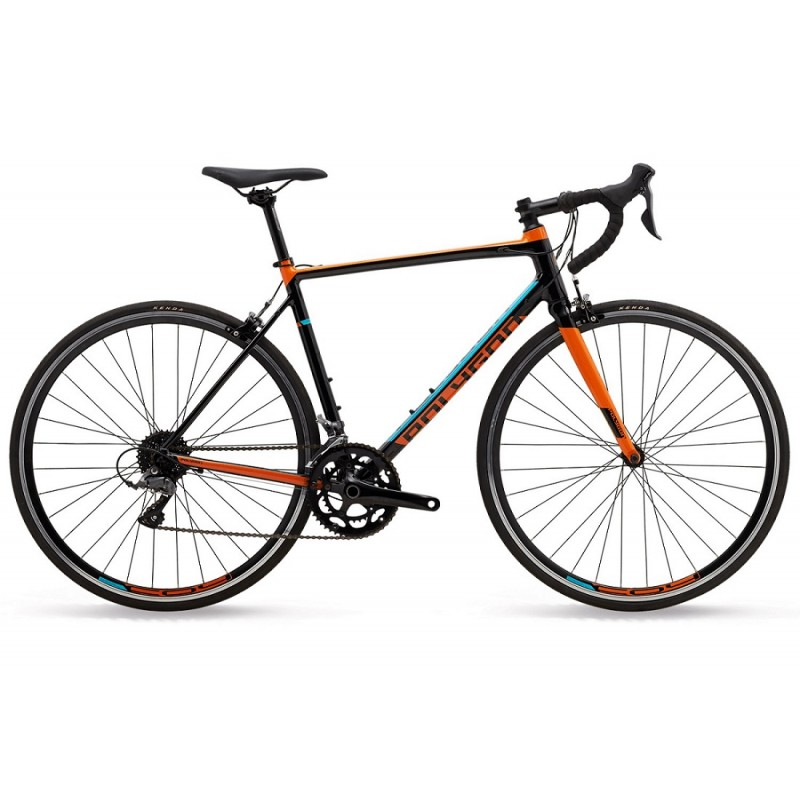 Polygon Strattos S2 Road Bike 2019 Black Orange Tosca