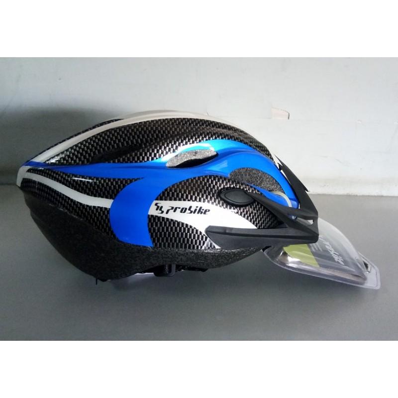 Probike Sport Helmet White Blue