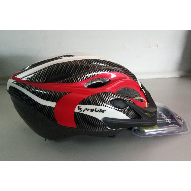 Probike Sport Helmet White Red