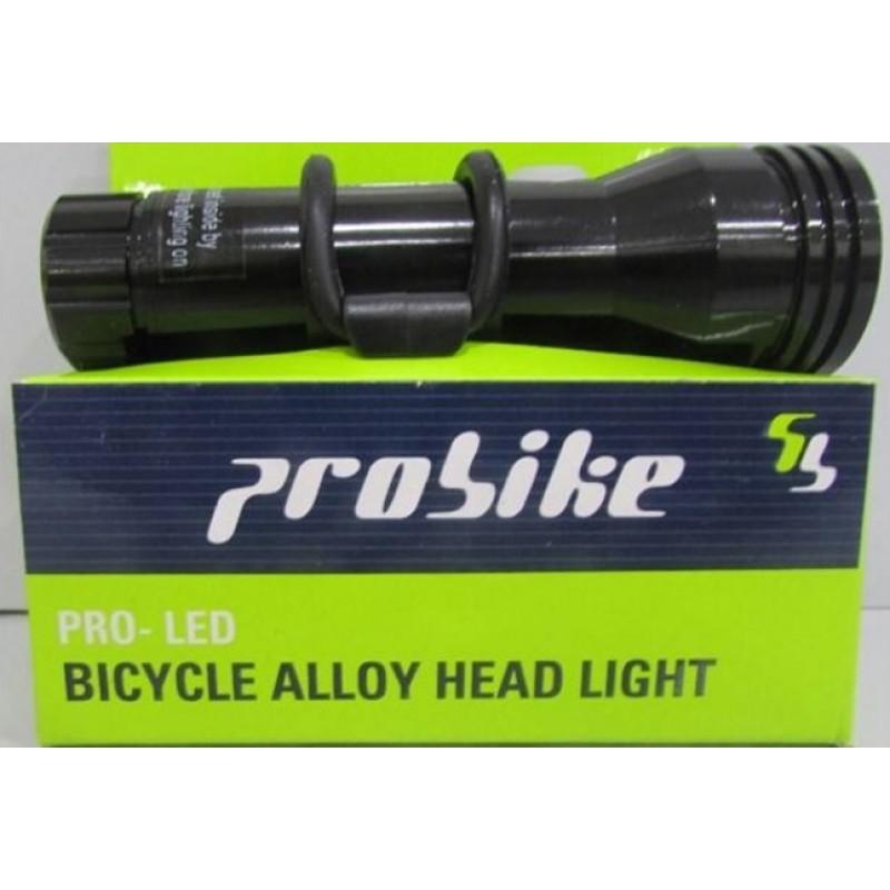 Probike 2400mah T6 Led Bike Aluminium Headlight