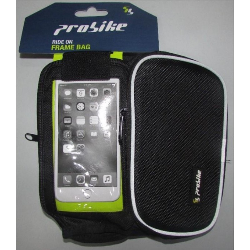 Probike Frame Bag With Mobile Cover