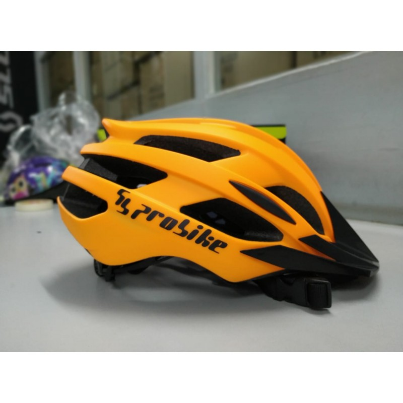 Probike Helmet Black Orange