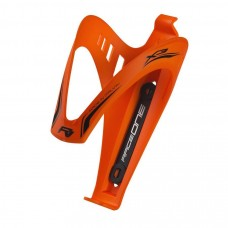 Raceone X3 Rubberized Bottle Cage Orange Flourescent