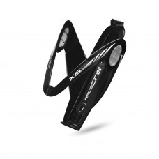 Raceone X5 Gel Bottle Cage Black and Silver