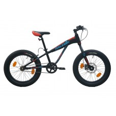 Raleigh 20 Big Sam Kids Bike Black Blue Red