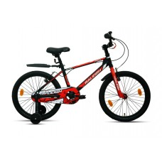 Raleigh 20 Jazzi Kids Bike Black Red White