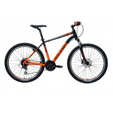 Raleigh 27.5x18.5 Canon Mountain Bike Black Orange Grey