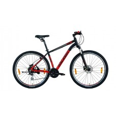 Raleigh 29x18 Canon Mountain Bike Black Red Grey