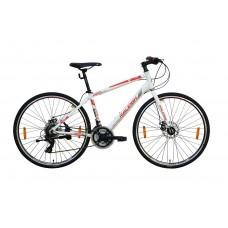 Raleigh Cadent Hybrid Bike White Red Grey