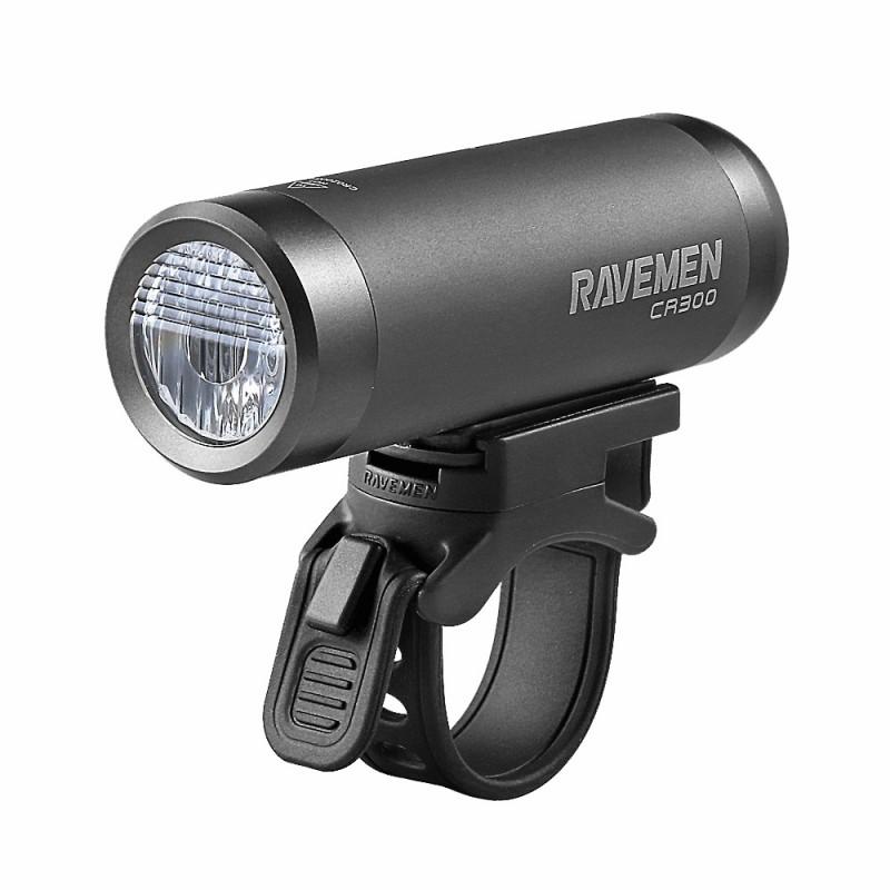 Ravemen CR300 Rechargeable Front Light Grey
