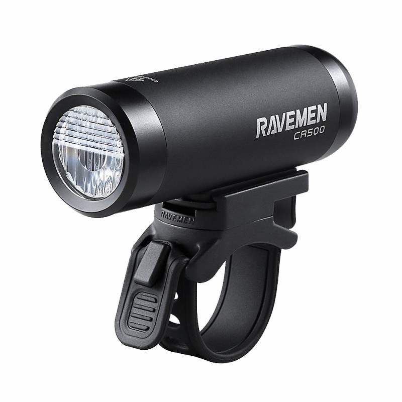 Ravemen CR500 Rechargeable Front Light Black