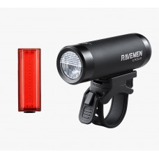 Ravemen LS-CT01 (CR500 & TR20) Light Set Black Red