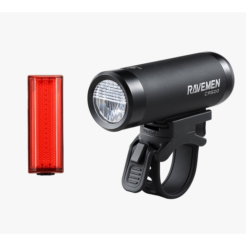 Ravemen LS-CT01 (CR500 & TR20) Light Set Black Red
