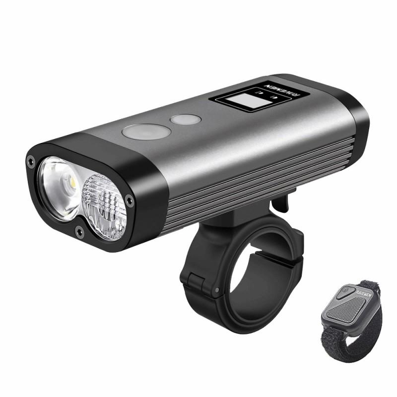 Ravemen PR1600 Rechargeable Front Light Grey