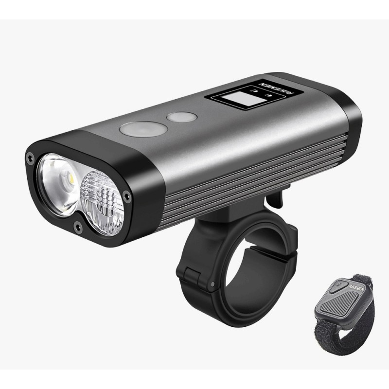 Ravemen PR1600 Rechargeable Front Light Grey
