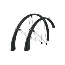 SKS Longboard Road and Hybrid Bike Mudguard Black, 35mm