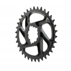 SRAM Eagle X-Sync 2 Oval Direct Mount Chainring Black 6mm Offset-34T