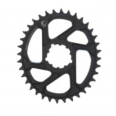 SRAM Eagle X-Sync 2 Oval Direct Mount Chainring Black 6mm Offset-36T