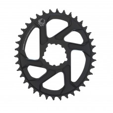 SRAM Eagle X-Sync 2 Oval Direct Mount Chainring Black 6mm Offset-38T