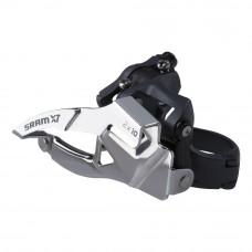SRAM Top Pull HI Clamp Front Derailleur-X7 (31.8/34.9)