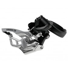 SRAM X5 2x10 Bottom Pull Hi Clamp Front Derailleur