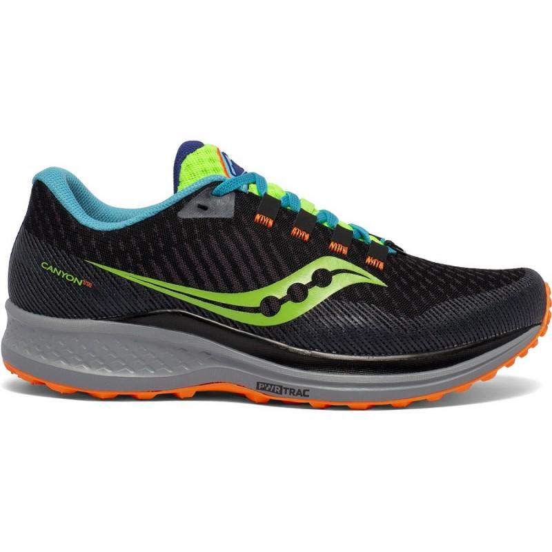 Saucony Canyon TR Men's Running Shoe Future Black