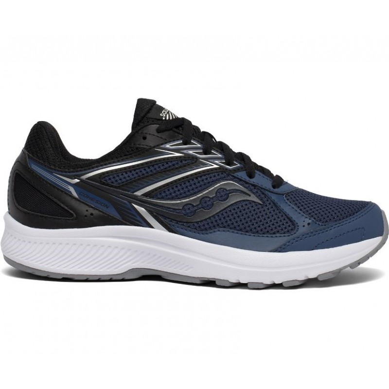 Saucony Cohesion 14 Men's Running Shoe Blue/Black