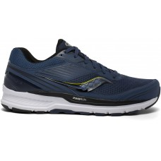 Saucony Echelon 8 Wide Men's Running Shoe Storm Black