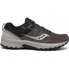 Saucony Excursion TR14 Men's Running Shoe Gravel/Storm