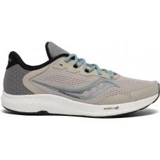 Saucony Freedom 4 Men's Running Shoe Stone/Alloy
