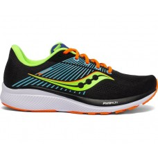 Saucony Guide 14 Men's Running Shoe Future Black
