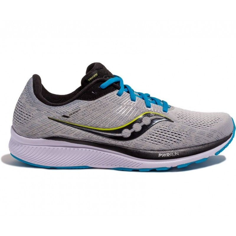 Saucony Guide 14 Wide Men's Running Shoe Alloy/Cobalt