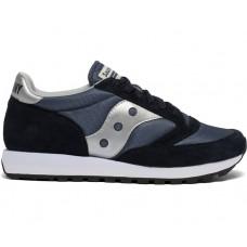Saucony Jazz 81 Men's Running Shoe Navy/Silver