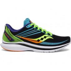 Saucony Kinvara 12 Men's Running Shoe Future Black